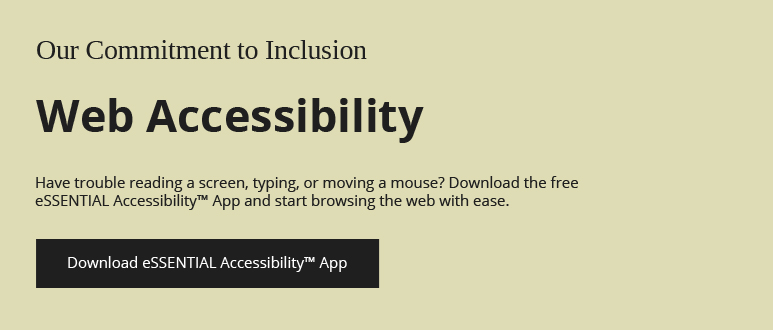 Accesibility Banner